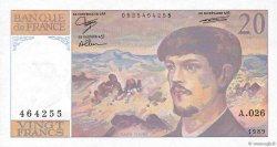 20 Francs DEBUSSY FRANCE  1989 F.66.10a NEUF