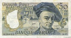 50 Francs QUENTIN DE LA TOUR FRANCE  1979 F.67.05 TTB