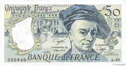 50 Francs QUENTIN DE LA TOUR FRANCE  1984 F.67.10 SUP