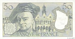 50 Francs QUENTIN DE LA TOUR FRANCE  1985 F.67.11 SUP