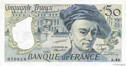 50 Francs QUENTIN DE LA TOUR FRANCE  1987 F.67.13 SUP