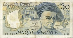 50 Francs QUENTIN DE LA TOUR FRANCE  1988 F.67.14 TB