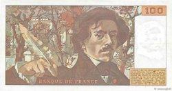 100 Francs DELACROIX FRANCE  1978 F.68.04 TTB+
