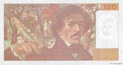 100 Francs DELACROIX imprimé en continu FRANCE  1993 F.69bis.07 NEUF