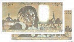 500 Francs PASCAL FRANCE  1984 F.71.31