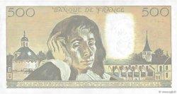 500 Francs PASCAL FRANCE  1989 F.71.42 SPL