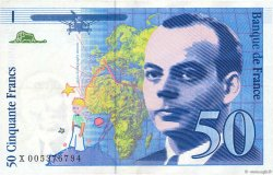 50 Francs SAINT-EXUPÉRY sans STRAP FRANCE  1993 F.72qua.02 SUP
