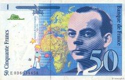 50 Francs SAINT-EXUPÉRY sans STRAP FRANCE  1997 F.72qua.04 TTB