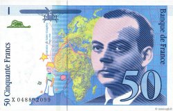 50 Francs SAINT-EXUPÉRY sans STRAP FRANCE  1999 F.72qua.05 NEUF