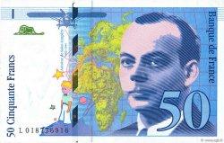 50 Francs SAINT-EXUPÉRY modifié FRANCE  1994 F.73.01c SUP