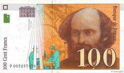 100 Francs CÉZANNE sans STRAP FRANCE  1997 F.74bis.01 TTB+