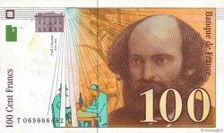 100 Francs CÉZANNE sans STRAP FRANCE  1998 F.74bis.02 TTB+