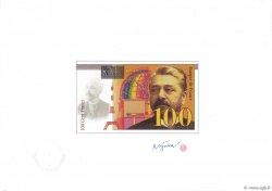 100/200 Francs EIFFEL essai FRANCE  1995 F.75.-- NEUF