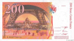 200 Francs EIFFEL FRANCE  1995 F.75.01 NEUF