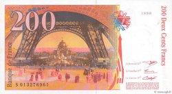 200 Francs EIFFEL sans STRAP FRANCE  1996 F.75bis.02 NEUF