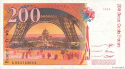 200 Francs EIFFEL sans le pont FRANCE  1999 F.75qua.01 TTB+