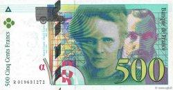 500 Francs PIERRE ET MARIE CURIE sans le symbole du Radium FRANCE  1994 F.76ter.01 pr.NEUF