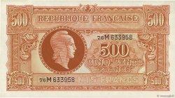 500 Francs MARIANNE FRANCE  1945 VF.11.02 pr.NEUF