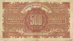 500 Francs MARIANNE FRANCE  1945 VF.11.03 TB