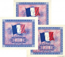 2 Francs DRAPEAU FRANCE  1944 VF.16.01-02-03 NEUF