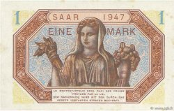 1 Mark SARRE FRANCE  1947 VF.44.01 SUP+