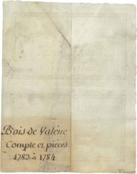 2 Litres de vin / 2/3 Kg Viande FRANCE  1820 - SPL