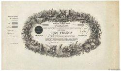 5 Francs FRANCE  1850 - SPL
