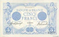5 Francs BLEU FRANCE  1913 F.02.19 NEUF