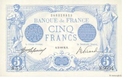 5 Francs BLEU FRANCE  1916 F.02.35 NEUF