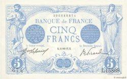 5 Francs BLEU FRANCE  1917 F.02.47 NEUF