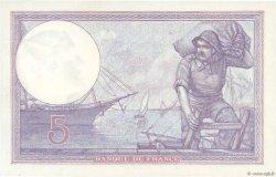 5 Francs VIOLET FRANCE  1921 F.03.05 pr.SPL