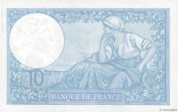10 Francs MINERVE modifié FRANCE  1939 F.07.13 SPL