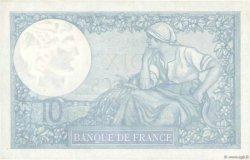 10 Francs MINERVE modifié FRANCE  1942 F.07.31 pr.SPL