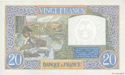 20 Francs SCIENCE ET TRAVAIL FRANCE  1940 F.12.06 SPL