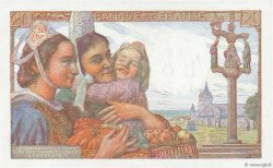 20 Francs PÊCHEUR FRANCE  1942 F.13.02 SPL+