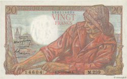 20 Francs PÊCHEUR FRANCE  1949 F.13.16 NEUF