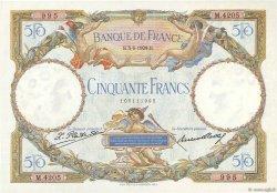 50 Francs LUC OLIVIER MERSON FRANCE  1929 F.15.03 SPL