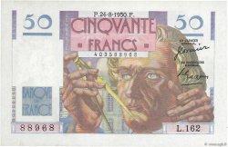 50 Francs LE VERRIER FRANCE  1950 F.20.16 SUP+