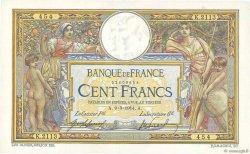 100 Francs LUC OLIVIER MERSON sans LOM FRANCE  1914 F.23.06 pr.SPL