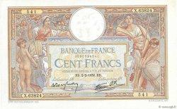 100 Francs LUC OLIVIER MERSON type modifié FRANCE  1939 F.25.41 SPL