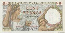 100 Francs SULLY FRANCE  1939 F.26.18 NEUF