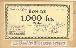 1000 Francs FRANCE régionalisme et divers  1949 - SUP