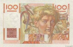100 Francs JEUNE PAYSAN FRANCE  1945 F.28.00 SUP