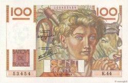100 Francs JEUNE PAYSAN FRANCE  1946 F.28.04 SPL