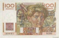 100 Francs JEUNE PAYSAN FRANCE  1948 F.28.17 SUP+