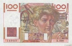 100 Francs JEUNE PAYSAN FRANCE  1949 F.28.21 NEUF