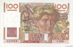 100 Francs JEUNE PAYSAN FRANCE  1950 F.28.26 SPL