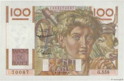 100 Francs JEUNE PAYSAN filigrane inversé FRANCE  1953 F.28bis.03 SPL