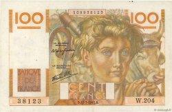 100 Francs JEUNE PAYSAN Favre-Gilly FRANCE  1947 F.28ter.02 TTB