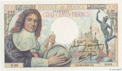 500 Francs COLBERT FRANCE  1943 F.33.00 NEUF